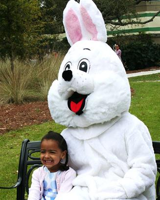 Easter Bunny Wagon Ride