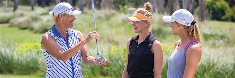 Womens Golf Clinics with Julie Cole