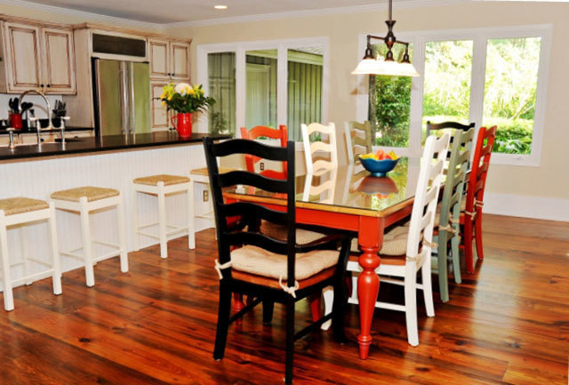 willow dining room | 28 Willow Oak Court | Vacation Rental Home | The Sea Pines ...