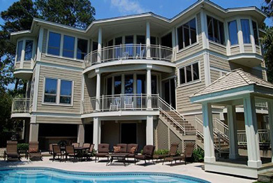 Hilton head island six bedroom vacation home rentals from for Dream home rentals