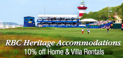 RBC Heritage Accommodation Specials