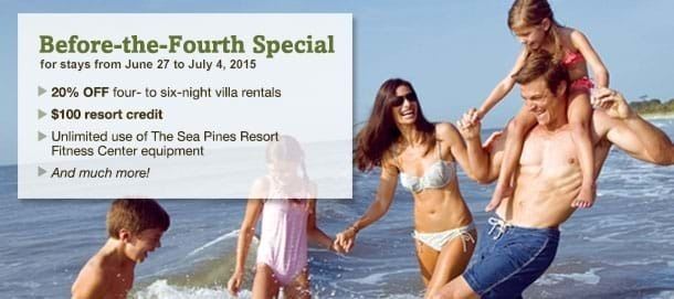 Hilton Head Island Summer Vacation Special