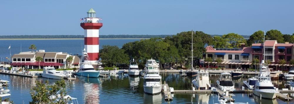Harbour town dining shopping events activities for Fish camp hilton head
