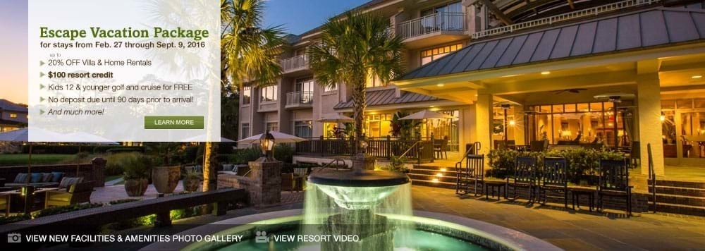Hilton Head Island Vacation Special