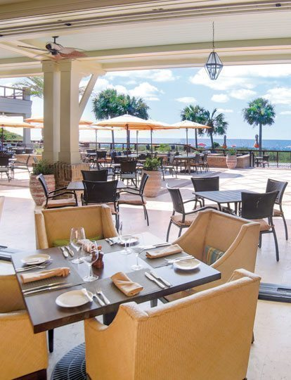 Sea Pines Beach Club Venues Coast Oceanfront Dining