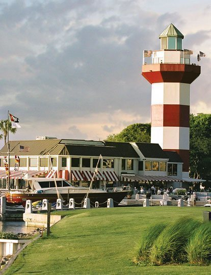 The Quarterdeck Waterfront Dininglocated At Base Of Iconic Harbour Town Lighthouse And Overlooking Sparkling Waters Calibogue Sound