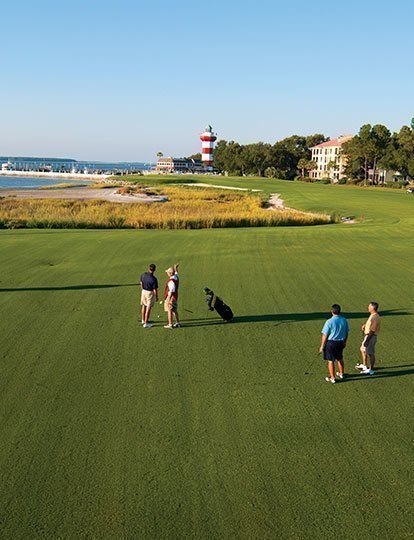 Golf Buddies on Harbour Town Golf Links