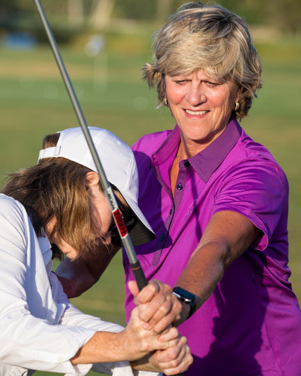 Female Golf Lesson